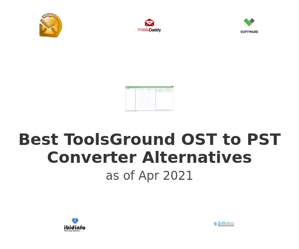 Best ToolsGround OST to PST Converter Alternatives