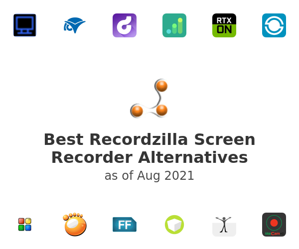 Best Recordzilla Screen Recorder Alternatives