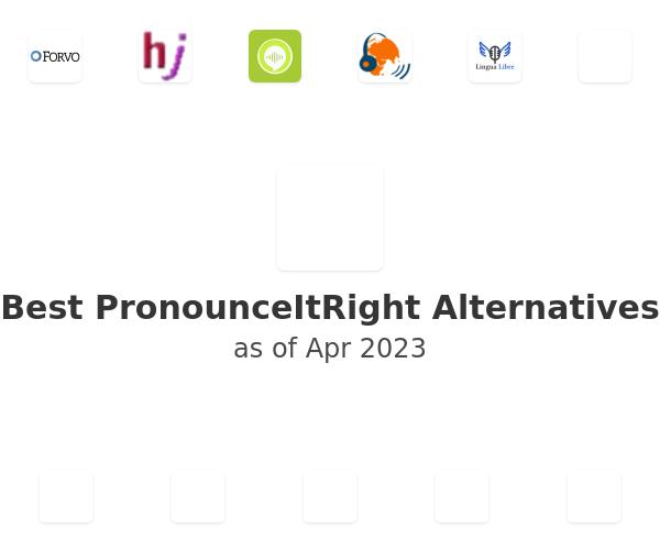 Best PronounceItRight Alternatives