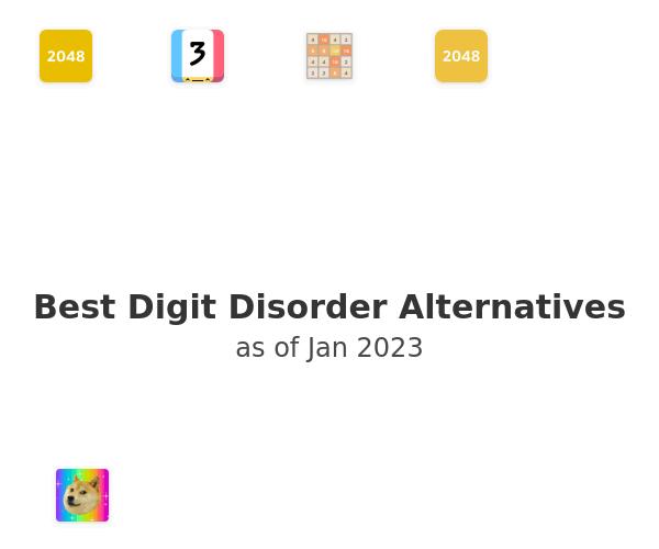 Best Digit Disorder Alternatives