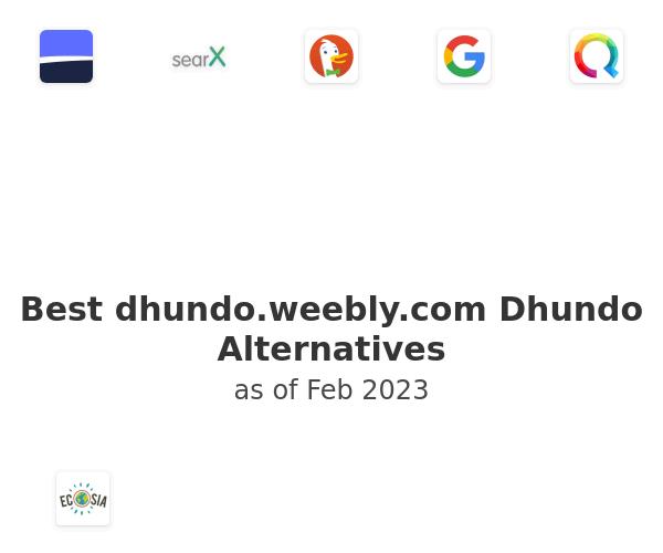 Best Dhundo Alternatives