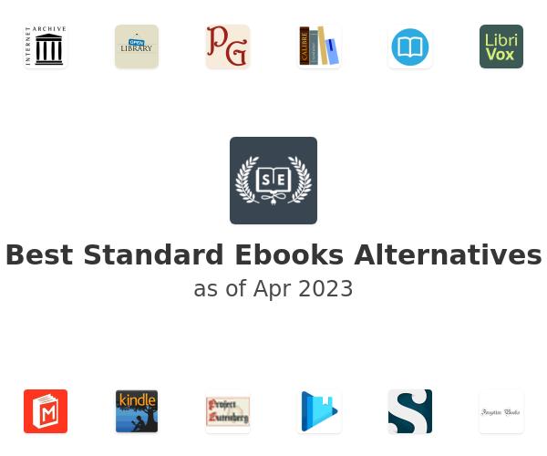 Best Standard Ebooks Alternatives