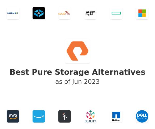 Best Pure Storage Alternatives