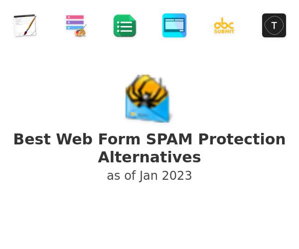 Best Web Form SPAM Protection Alternatives