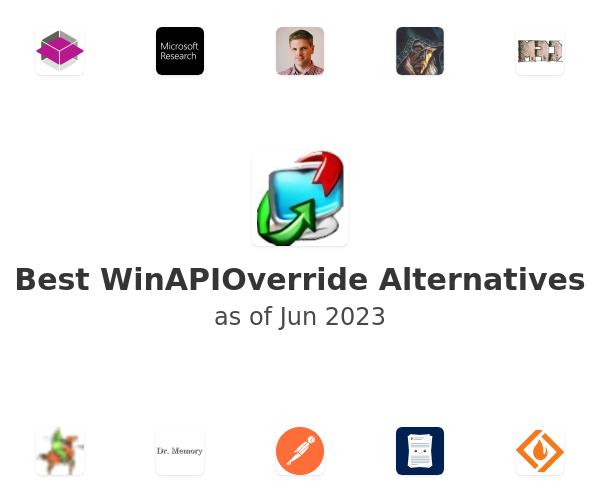Best WinAPIOverride Alternatives
