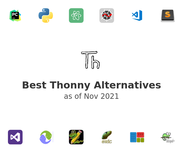 Best Thonny Alternatives