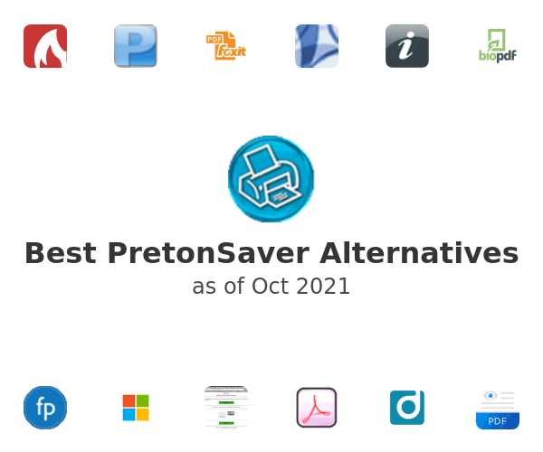 Best PretonSaver Alternatives