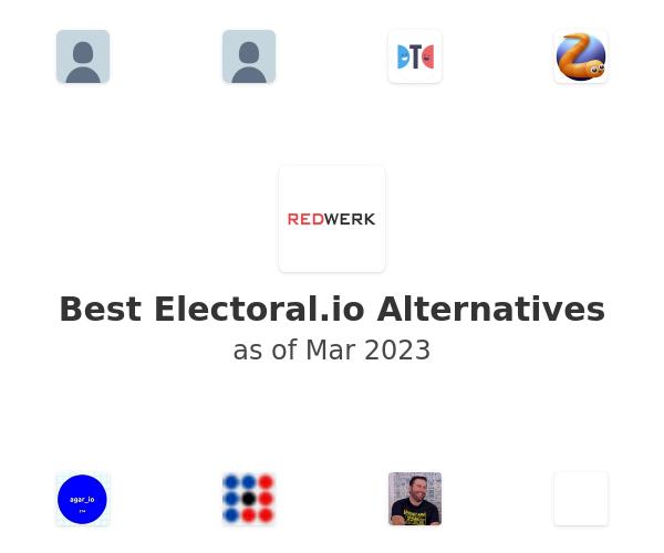 Best Electoral.io Alternatives