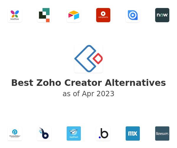 Best Zoho Creator Alternatives