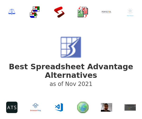Best Spreadsheet Advantage Alternatives