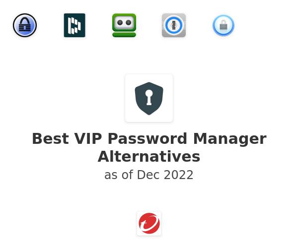Best VIP Password Manager Alternatives