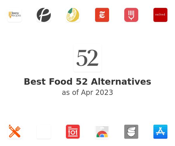 Best Food 52 Alternatives