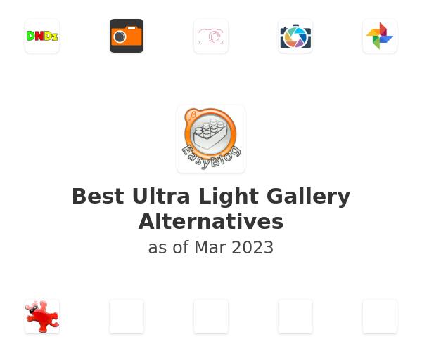 Best Ultra Light Gallery Alternatives