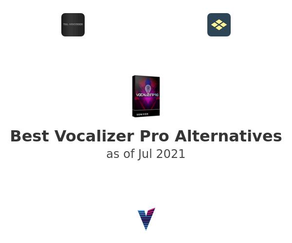 Best Vocalizer Pro Alternatives