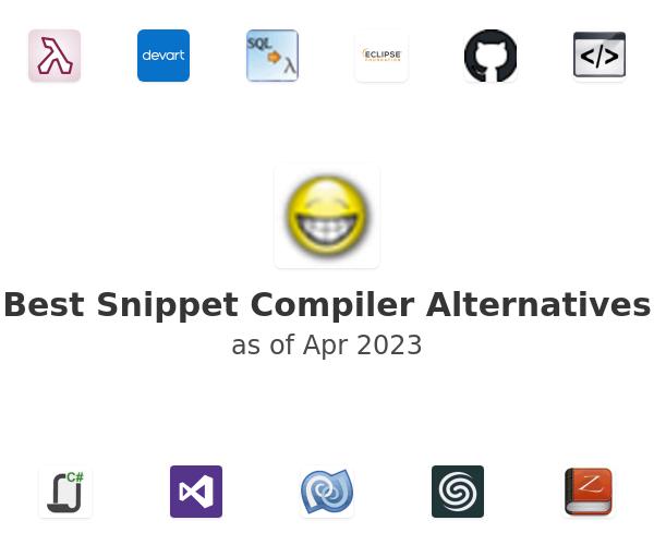 Best Snippet Compiler Alternatives
