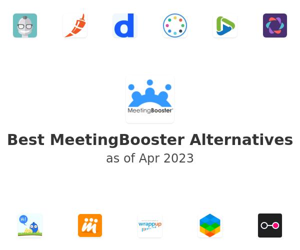 Best MeetingBooster Alternatives