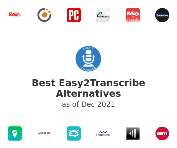 Best Easy2Transcribe Alternatives