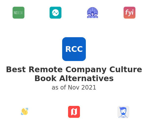 Best Remote Company Culture Book Alternatives
