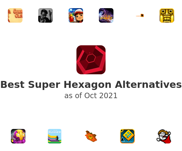 Best Super Hexagon Alternatives