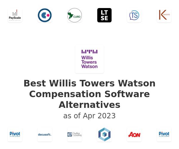 Best Willis Towers Watson Compensation Software Alternatives