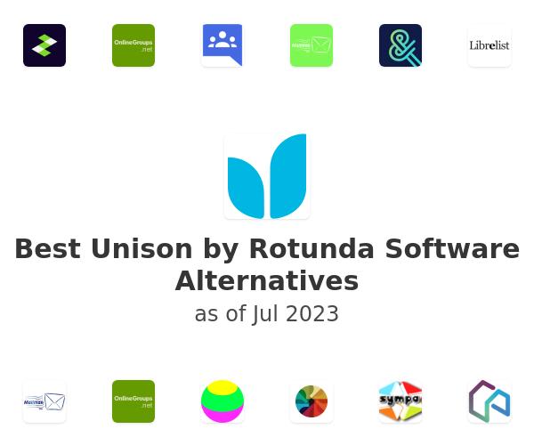 Best Unison by Rotunda Software Alternatives