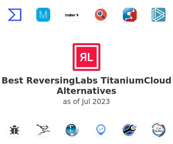 Best ReversingLabs TitaniumCloud Alternatives