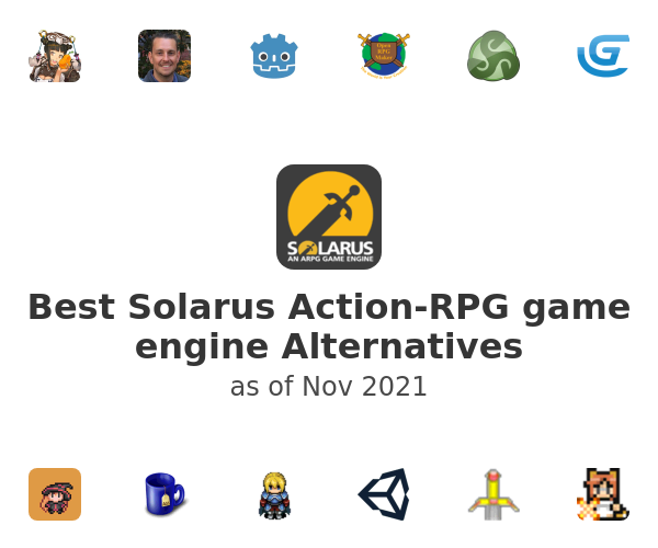 Best Solarus Action-RPG game engine Alternatives