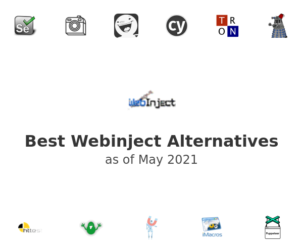 Best Webinject Alternatives