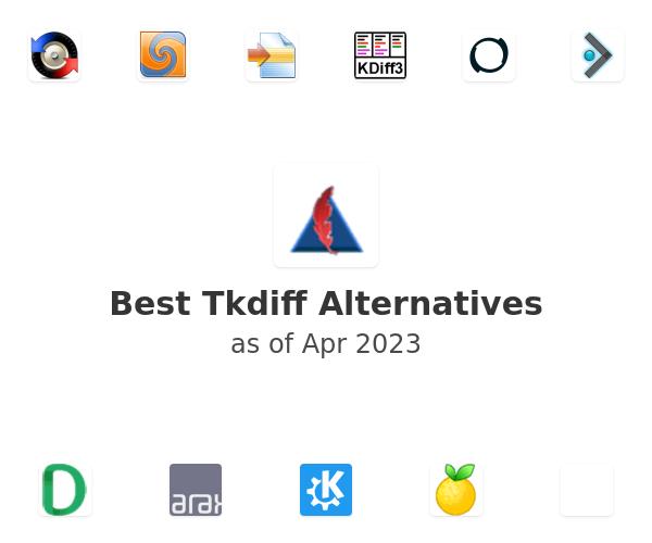 Best Tkdiff Alternatives