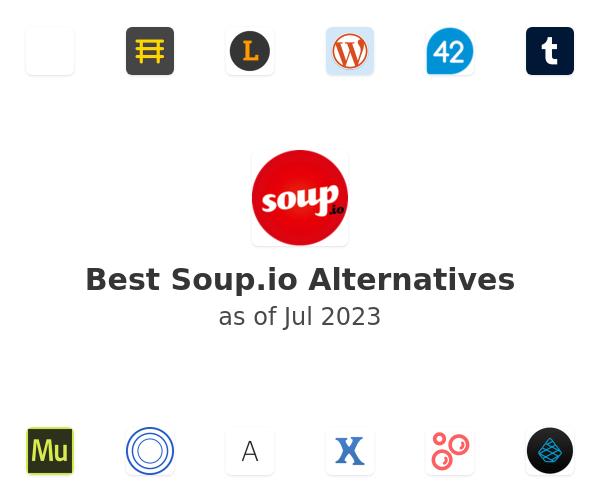 Best Soup.io Alternatives