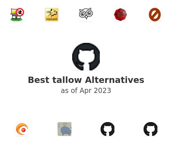Best tallow Alternatives