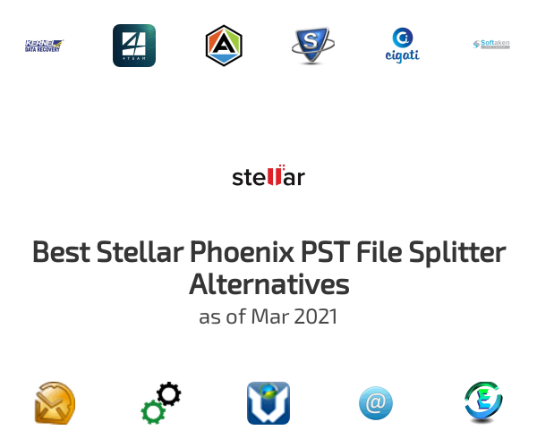 Best Stellar Phoenix PST File Splitter Alternatives