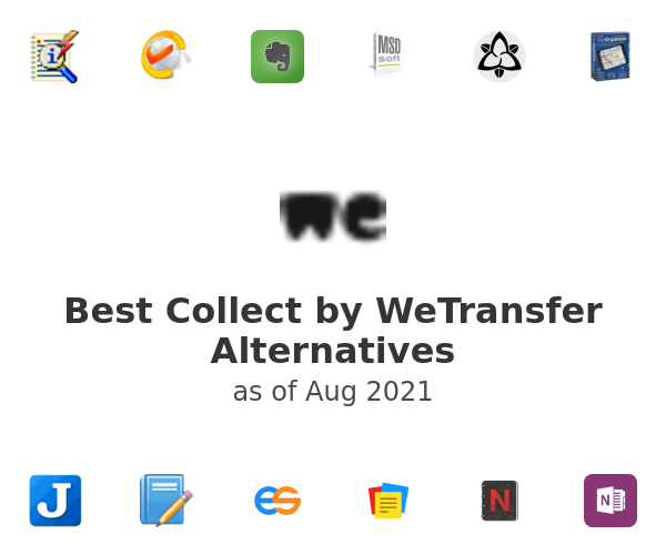 Best Collect by WeTransfer Alternatives