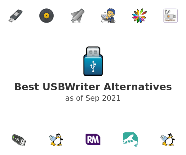 Best USBWriter Alternatives