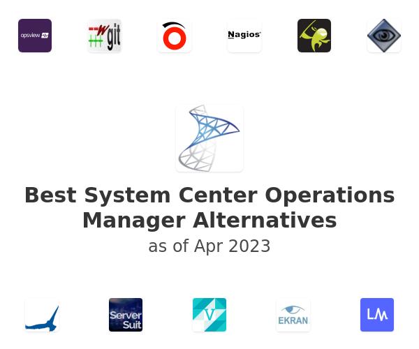 Best System Center Operations Manager Alternatives