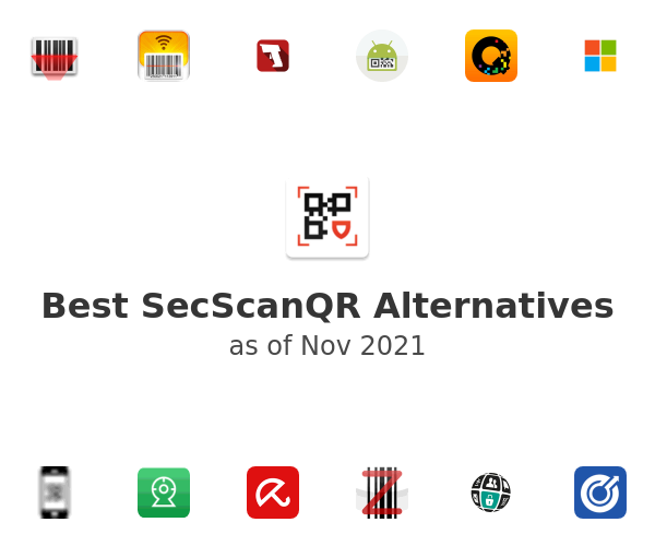 Best SecScanQR Alternatives