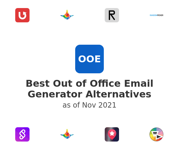 Best Out of Office Email Generator Alternatives