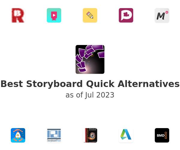 Best Storyboard Quick Alternatives