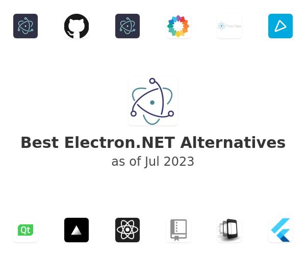 Best Electron.NET Alternatives
