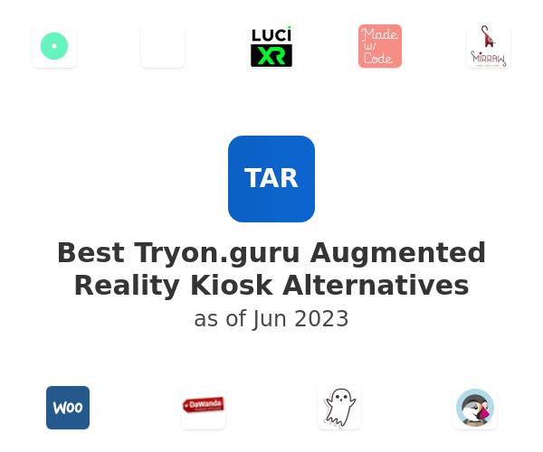 Best Tryon.guru Augmented Reality Kiosk Alternatives