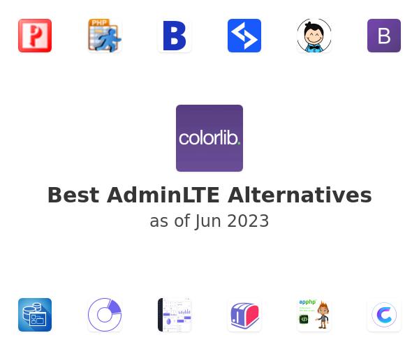 Best AdminLTE Alternatives