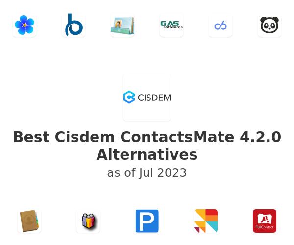 Best Cisdem ContactsMate 4.2.0 Alternatives