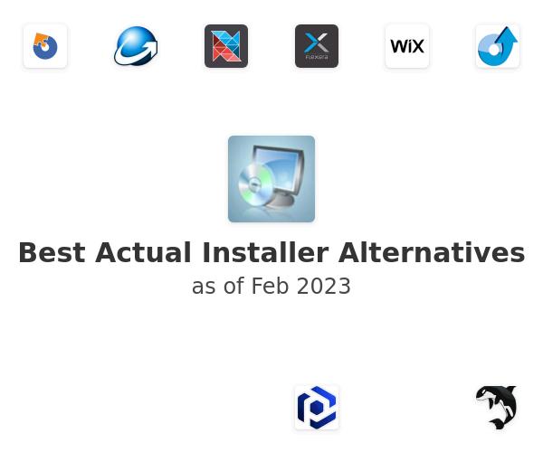 Best Actual Installer Alternatives