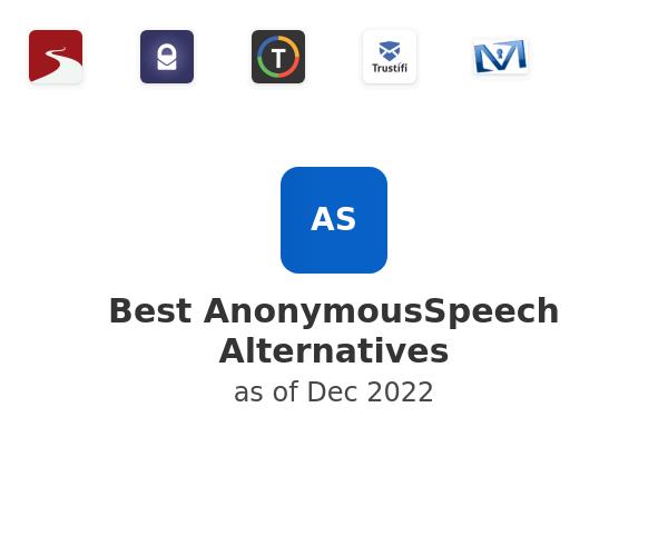 Best AnonymousSpeech Alternatives