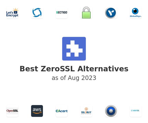 Best ZeroSSL Alternatives