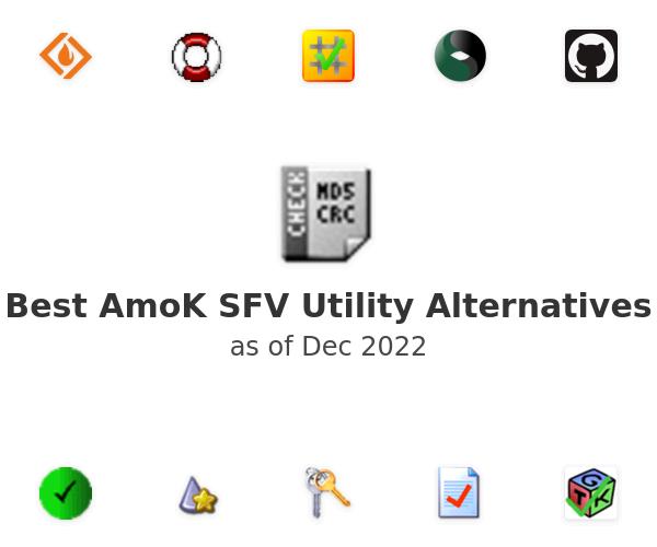 Best AmoK SFV Utility Alternatives