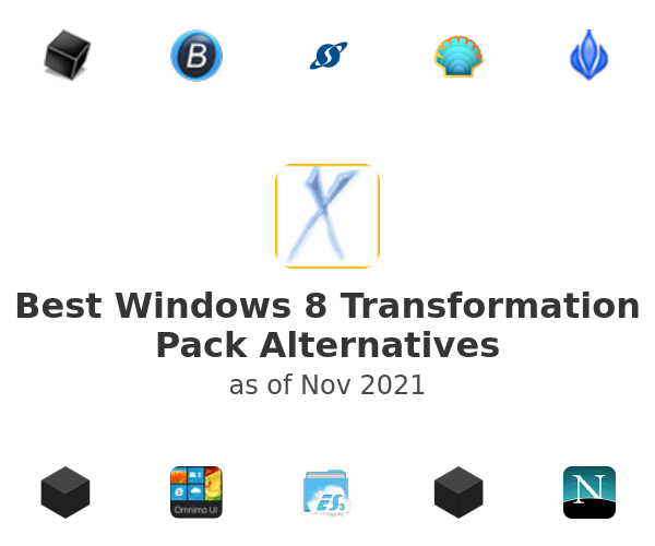 Best Windows 8 Transformation Pack Alternatives