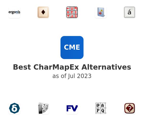 Best CharMapEx Alternatives