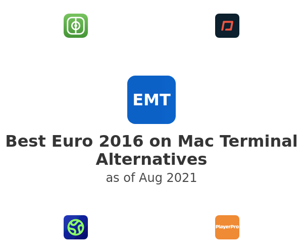 Best Euro 2016 on Mac Terminal Alternatives