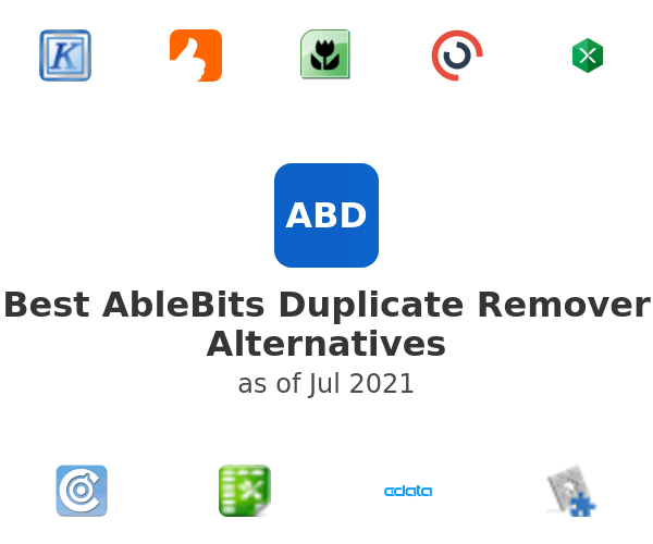 Best AbleBits Duplicate Remover Alternatives